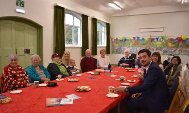 Grindon Parish Hall Users Sitting Pretty Thanks To Lambs Hill Wind Farm Fund Grant