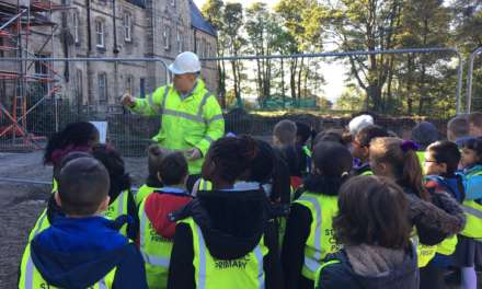 Pendower Hall Welcomes Schools From Local Community Onsite