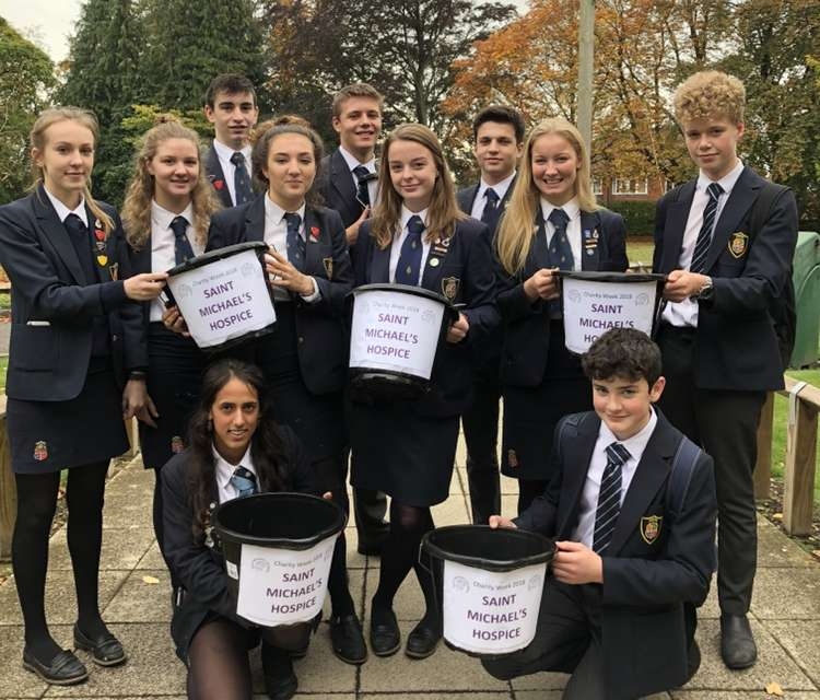 Bereaved students inspire hospice fundraiser