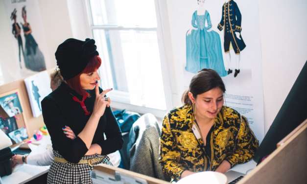 Hats off to fashion historian and broadcaster as she visits The Northern School of Art
