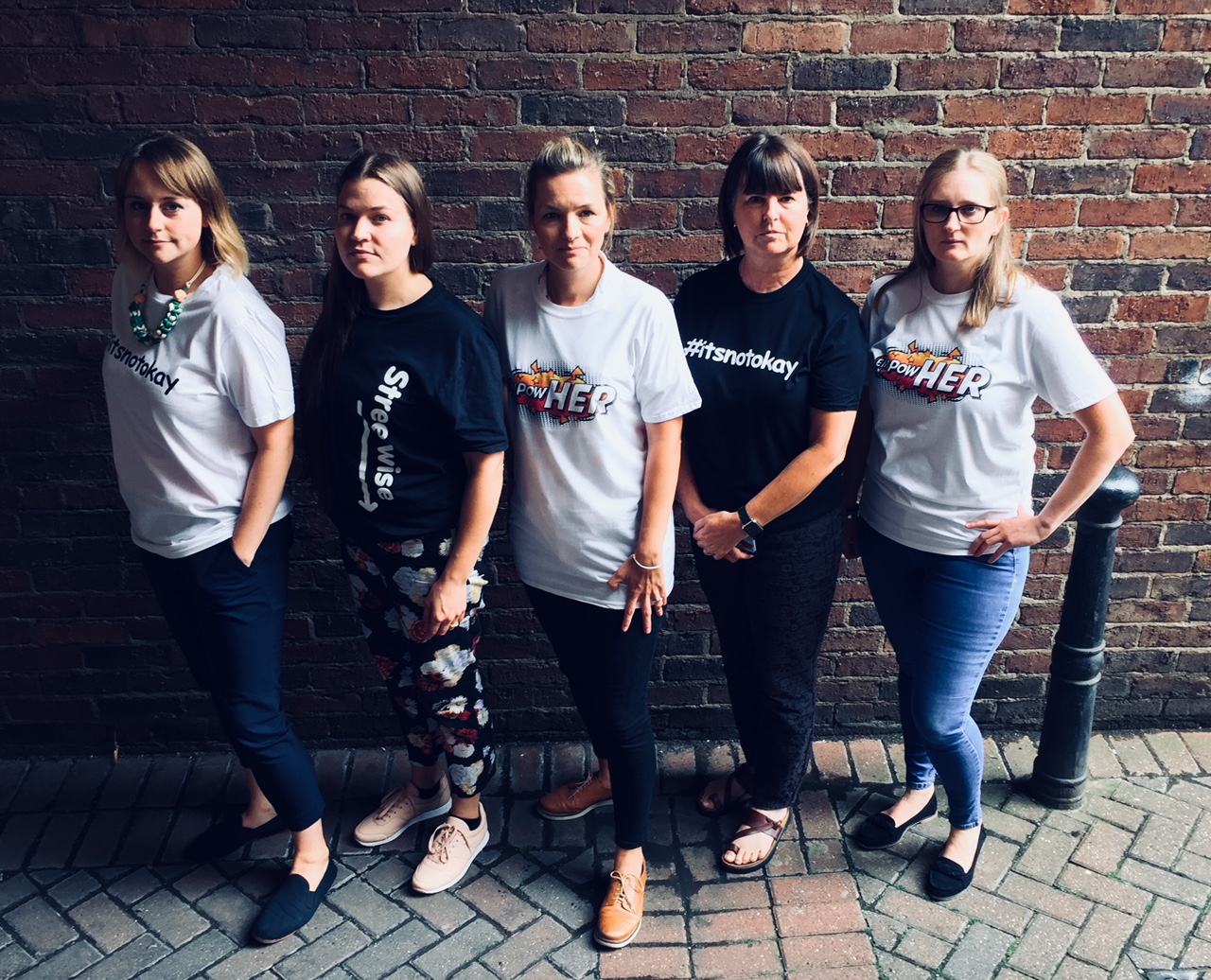 #ITSNOTOKAY LAUNCHES IN NEWCASTLE AFTER SHOCKING SURVEY REVEALED 80 PERCENT OF YOUNG PEOPLE FELT UNSAFE IN THE REGION