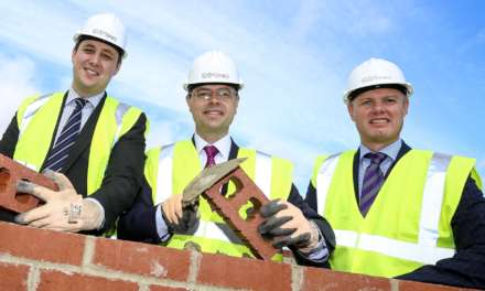 HOUSING SECRETARY AND TEES VALLEY MAYOR VISIT HOMES DEVELOPMENT IN STOCKTON