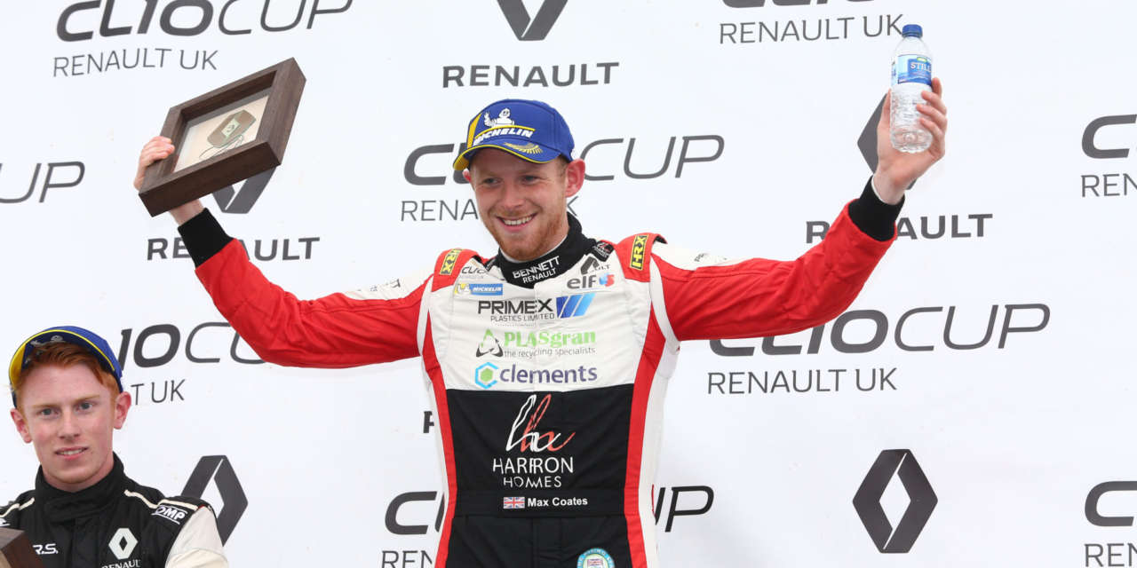 Coates ends spectacular Clio Cup season as Vice-Champion