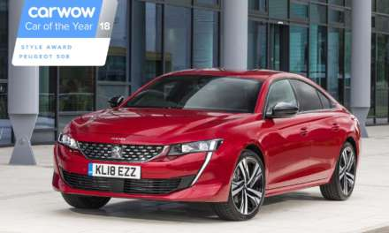 ALL-NEW PEUGEOT 508 NAMED MOST STYLISH CAR OF 2018 BY CARWOW