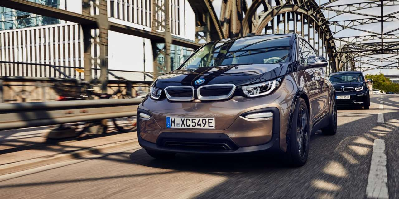 THE ALL-ELECTRIC BMW i3 120AH