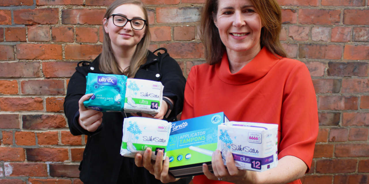 Tackling period poverty: Darlington Cares calls on the town's businesses to support its new campaign