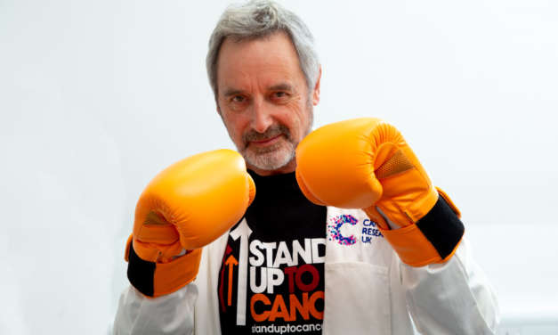 NORTH EAST SCIENTIST STRIKES A BLOW FOR  STAND UP TO CANCER