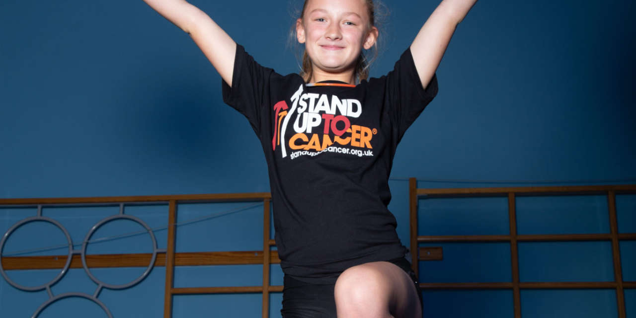 Award-winning Northern Sparkles Cheerleading Make A Stand Against Cancer