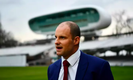 Director of England Cricket, Andrew Strauss, Steps Down