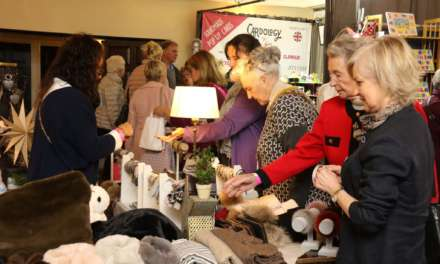 Organisers of charity shopping event hoping to bow out on a half million pound high