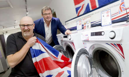 John Phillip of Skipton, one of first with new British made washers from Ebac
