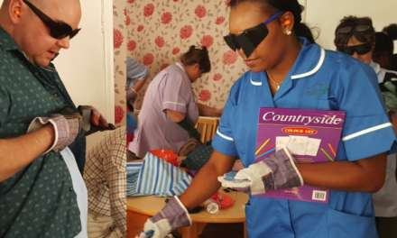 Care home staff get a taste of life with dementia