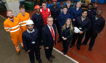 Local TTE apprentices receive international business boost