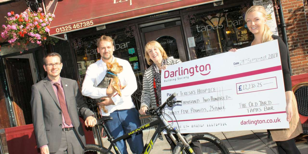 Tour de Tapas leads to healthy donation for hospice