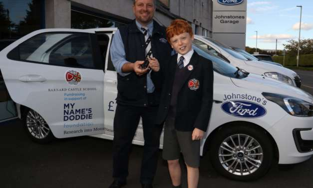 School aiming to drive forward charity fundraising with car raffle