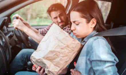 A fifth of motorists suffer nausea or sickness as a driver or passenger