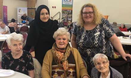 Islamic community group organise special lunch for elderly