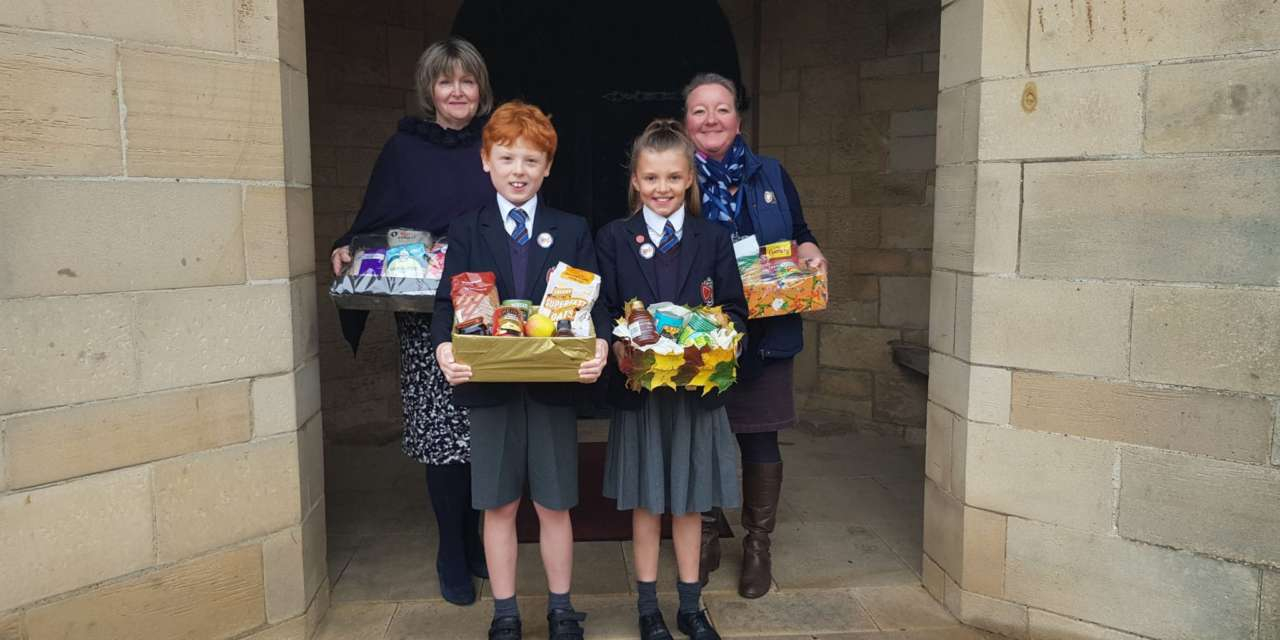Generous donations harvest gratitude for school children