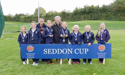 Hundreds of children battle for rugby and hockey glory