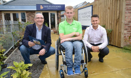 Built for all: Local housebuilder receives expert advice from Whizz-Kidz
