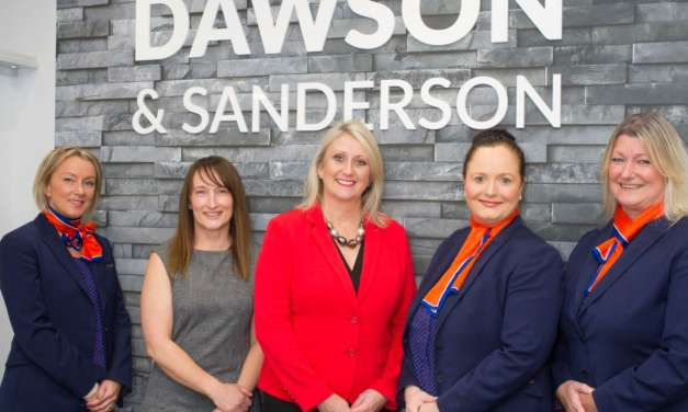 Staff from a North East travel agency fly high after free training