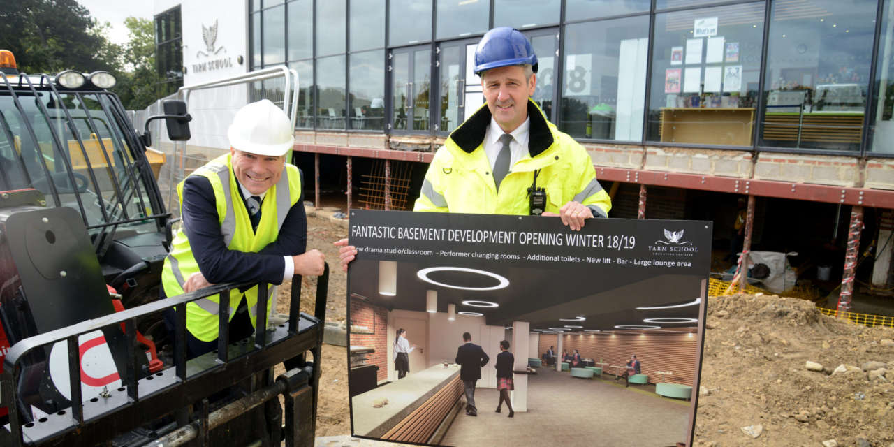 MAJOR INVESTMENT AT YARM'S PRINCESS ALEXANDRA AUDITORIUM