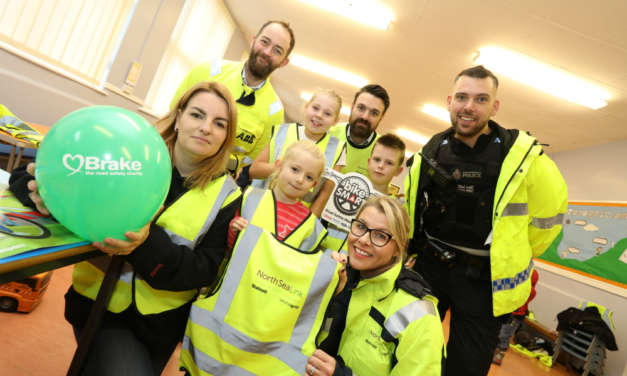 Northumberland primary school celebrates Road Safety Week with special event hosted by North Sea Link