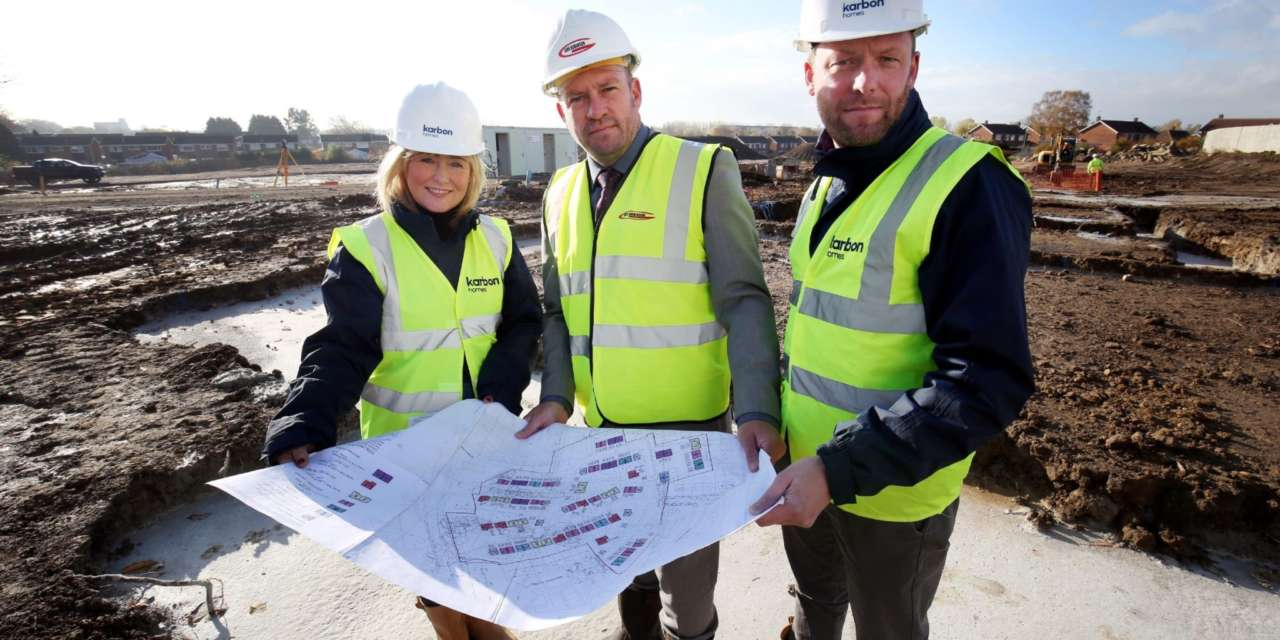 New developments will deliver 124 new affordable homes for Darlington