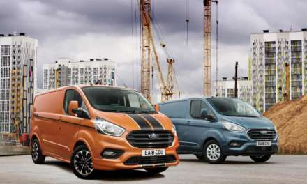 FORD TRANSIT CUSTOM IS BRITAIN'S NO.2 BEST-SELLING VEHICLE IN OCTOBER