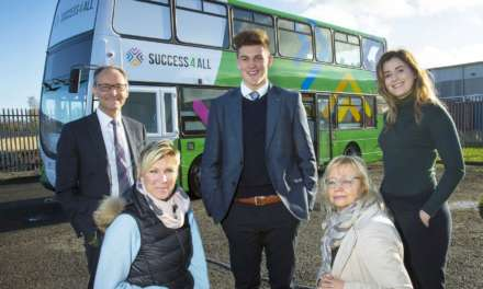 North East businesses hop on board to drive digital double decker crowdfunding success