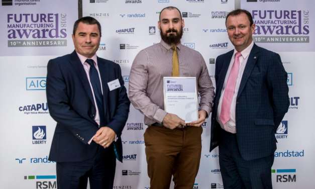 NORTH EAST'S CMR WINS MANUFACTURING SUSTAINABILITY AWARD