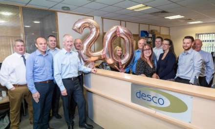 Award winning Desco celebrates 20th year in business