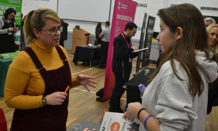School holds biggest and best careers event yet for county's students