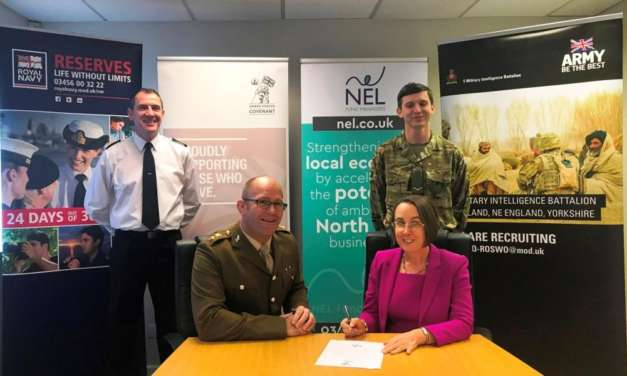 NEL Fund Managers Signs Armed Forces Covenant In Support Of Ex-Services Entrepreneurs