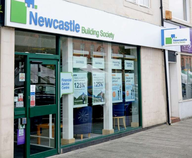 New Look For The New Year At Ashington Branch Of Newcastle Building Society