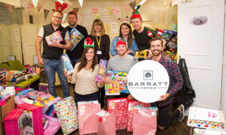 Yorkshire housebuilder spreads Christmas magic with Candlelighters children's charity