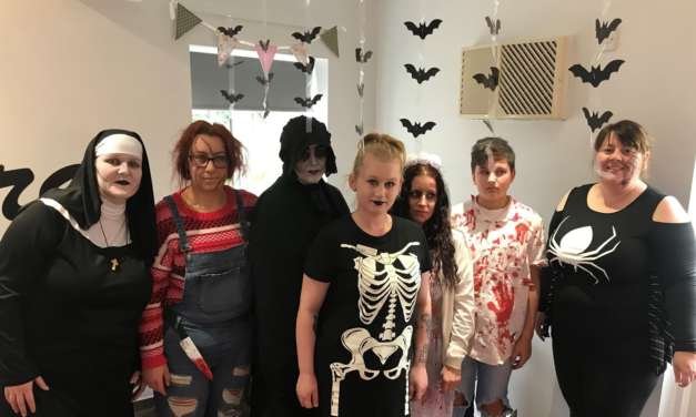 Teesside care homes hold Halloween celebrations