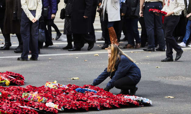 North East teenagers' role in national remembrance events