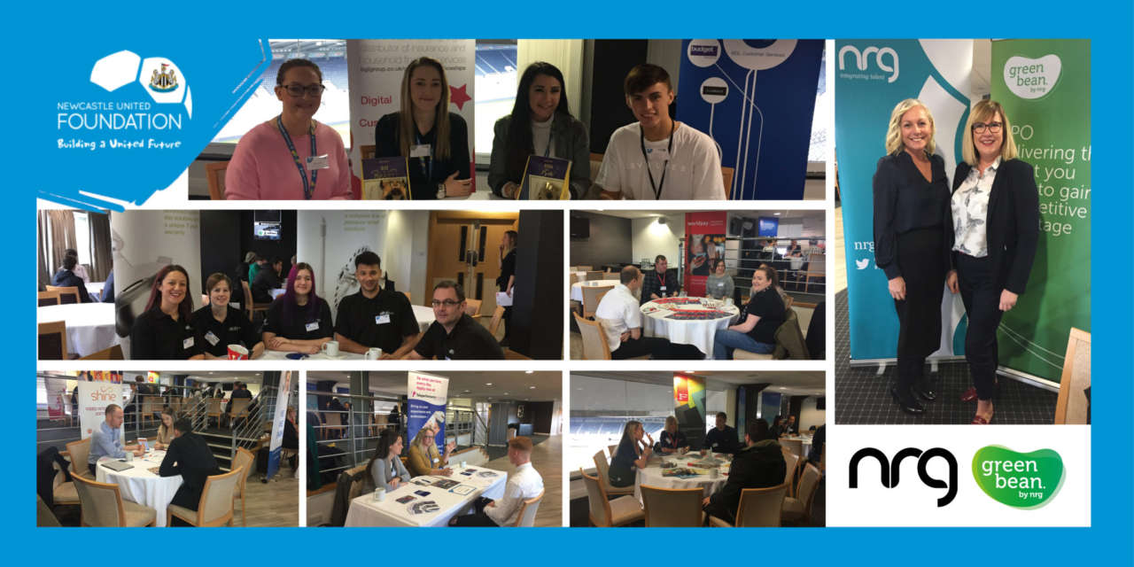 NRG and Newcastle United Foundation deliver career pathways into Contact Centre and Manufacturing event