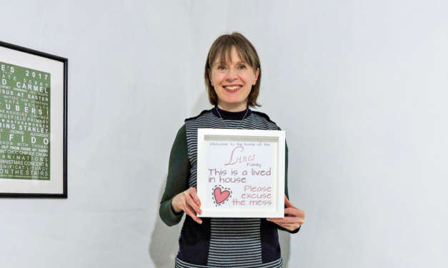 Starting a new business is 'All About Words' for County Durham mum