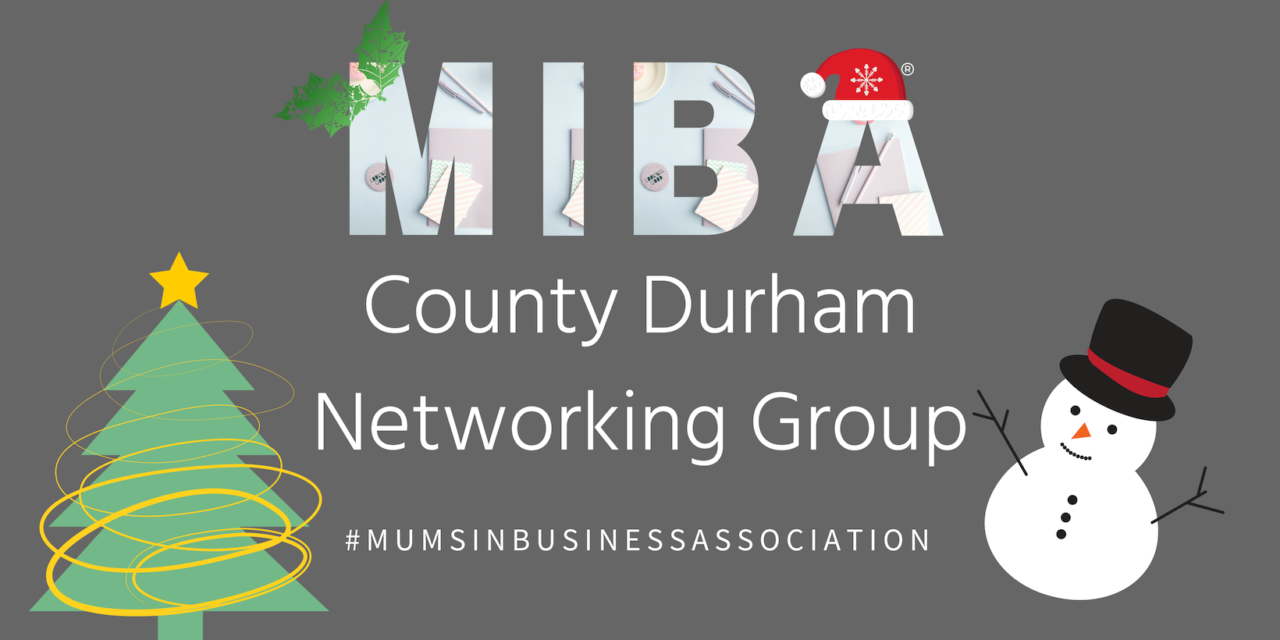 Mums In Business Association – County Durham Christmas Networking Event