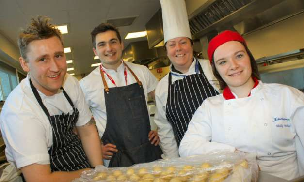 Students get a taste of Michelin-starred cooking