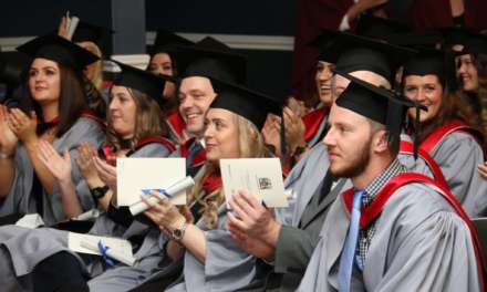 Darlington College students celebrate graduation