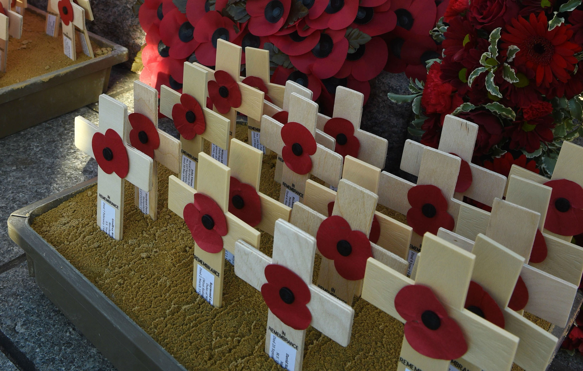 College ceremony commemorates school Old Boys lost in two World Wars