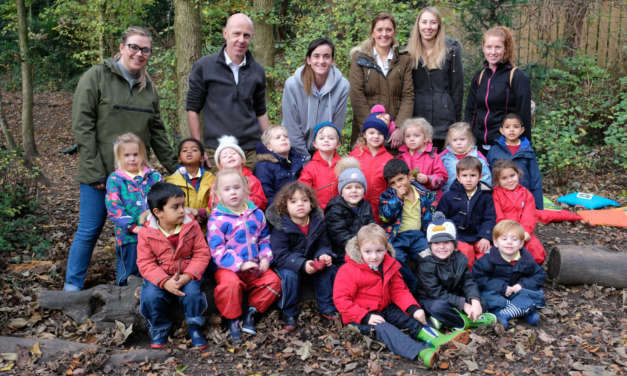 Yarm School hosts Woodland School session