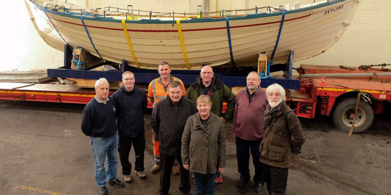 World's Oldest Lifeboat makes First Journey for half a Century for Life-saving Conservation project