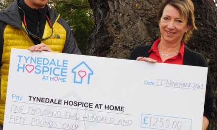 Hexham man's double challenge raises £s for Hospice