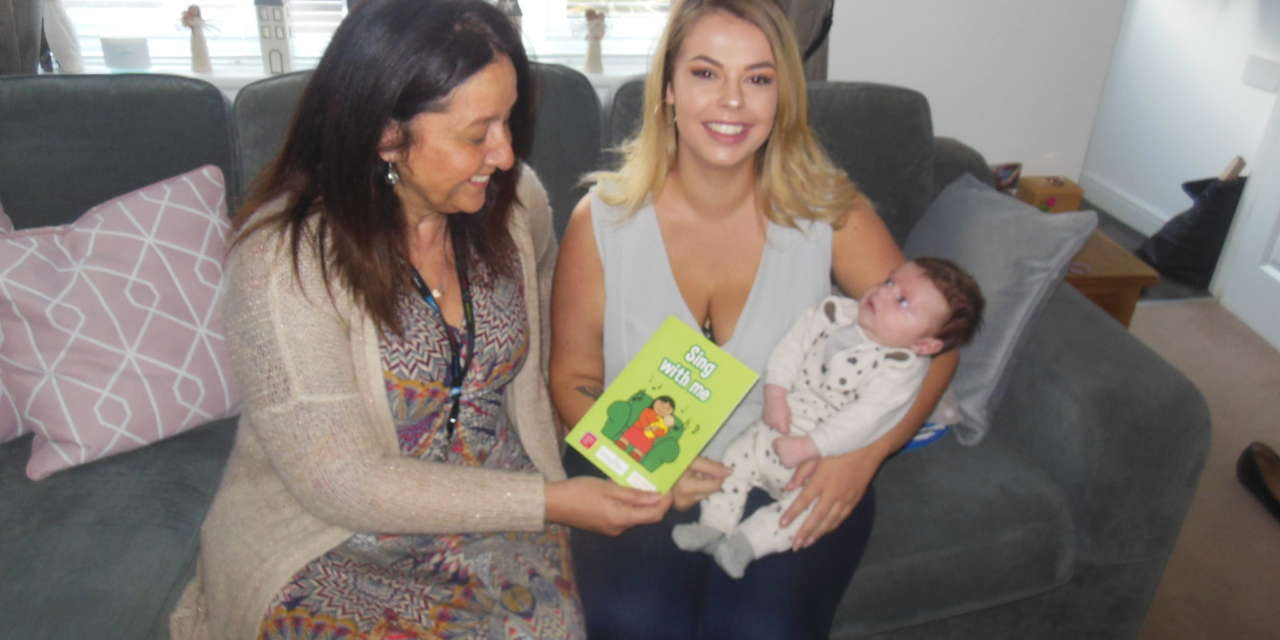 Literacy campaign marks World Nursery Rhyme Week by gifting every six-week-old baby with a nursery rhyme booklet
