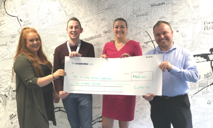NEWCASTLE CONTACT CENTRE CONTINUES CSR DRIVE TO SUPPORT IF U CARE SHARE FOUNDATION