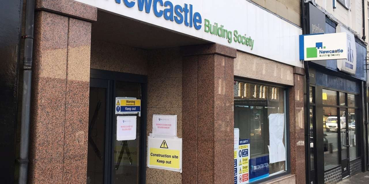 North East Contractors Get To Work On Newcastle Building Society Branch Refurbishments